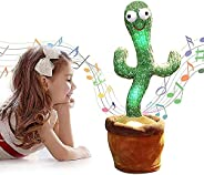 Orchid M Rechargeable 120 English songs Dancing Cactus Repeat What You say USB Electronic Plush Toy Decoration