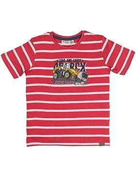 Salt & Pepper T-Shirt Construction Stripes, Camiseta para Niños