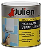 Julien 175001 Sous couche J7 Peinture pour verre/carrelage/stratifié 0,50 L Blanc Satine