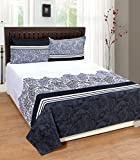 Portico New York Printed Double Bedsheet...