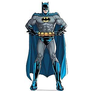 DC Comics Batman classique Découpe Décoration en carton d'anniversaire