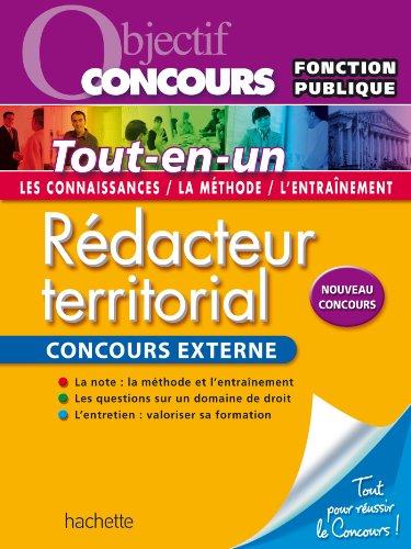 Objectif Concours - Rdacteur territorial - Concours externe