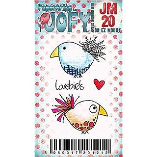 Paper Artsy JOFY Mini Rubber Stamp on Ez mount - Mini JOFY 20