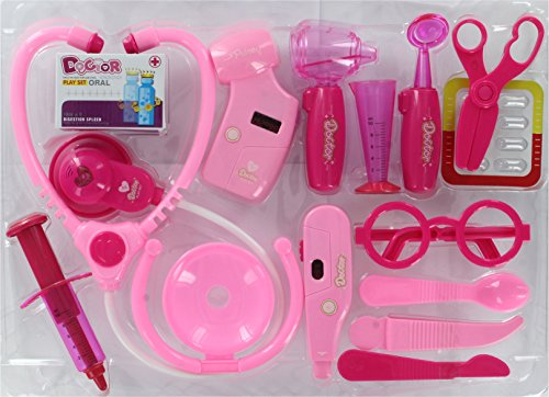 Doctor Set Pink, Multi Color  available at amazon for Rs.280