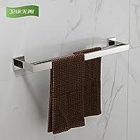 KHSKX Acciaio inossidabile Portasalviette mensola per bagno