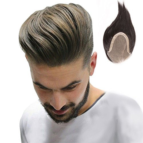 Homelex Haut Männer Haar Toupet Menschliches Haar Stücke -