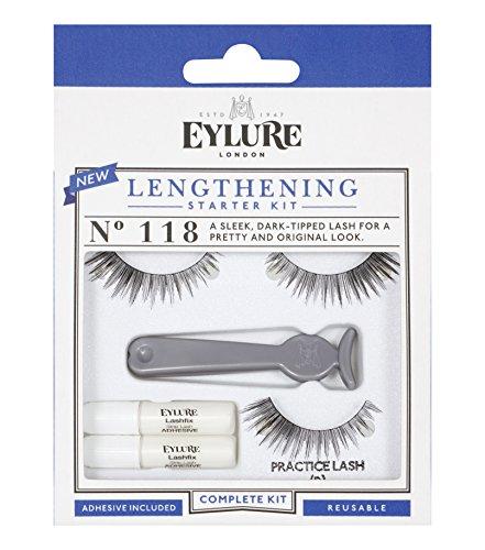 Eylure Lengthening Starter Kit Faux Cils pour Débutants No. 118