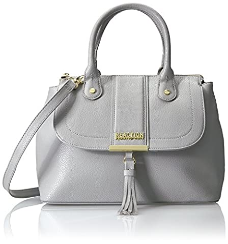 Kenneth Cole Reaction Norway Flap Satchel, Grey