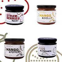 Spice It Up - 4 Spiced Jam Flavours x 400g