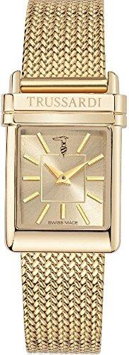 Wristwatch TRUSSARDI Mod. ELEGANCE SWISS MADE Lady Quartz R2453104501