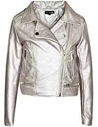 9eedb71d9 Amazon.co.uk  Silver - Coats   Jackets   Girls  Clothing