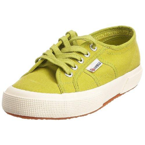 Superga 2750-Cotu Classic S000010, Damen Sneaker, Grün (Apfelgrün), 40