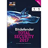 #6: Bitdefender Total Security 2017(windows)1 device 1 year-Activation key only