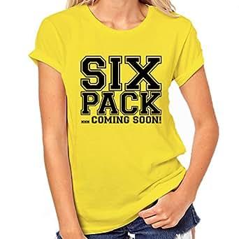 Six Pack Soon Womens Classic T-Shirt XX-Large