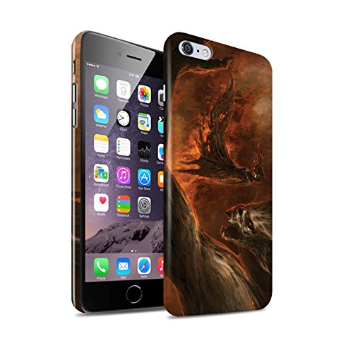 Offiziell Chris Cold Hülle / Glanz Snap-On Case für Apple iPhone 6+/Plus 5.5 / Pack 10pcs Muster / Dunkle Kunst Dämon Kollektion Der Anrufer
