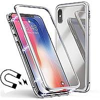 Miagon Magnetische Hülle für Huawei Honor 8X,Glas Schutzhülle für Huawei Honor 8X, Metall Rahmen Vorderseite und... preisvergleich bei billige-tabletten.eu