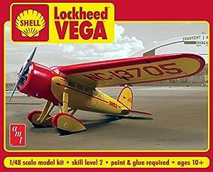 AMT amt9501: 48Escala Shell aceites Lockheed Vega plástico Modelo