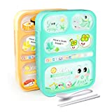 Best Bento Lunch Boxes - AckMond Lunch Bento Box, Microwave Safe Lunch Box Review