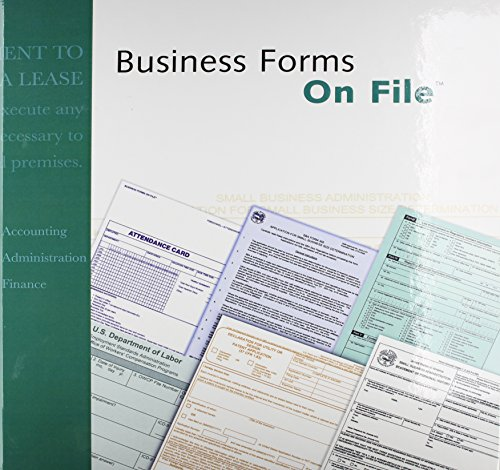 Business Forms On File: Every Form for Every Business, Large or Small -