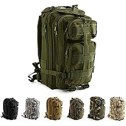 IVIM Mochila Táctica Militar Impermeable de 30L para Marcha, Excursionismo, Montañismo, Senderismo, Camping, Trekking, Caza y Aire Libre Ciclismo