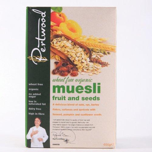 Pertwood Müsli-Biofrüchte und -Samen, 650 g