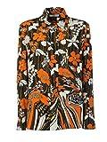 Prada Damen P497cgs1911tj9f0049 Multicolour Seide Hemd