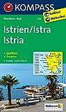 Istrien / Istra / Istria: Wanderkarte mit Kurzführer, Radrouten und Ortsplänen. 1:75000 (KOMPASS-Wanderkarten, Band 238)