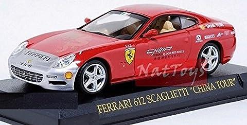 Ferrari GT Collection 612 Scaglietti China Tour Rare Fabbri DIE CAST 1:43 MODEL