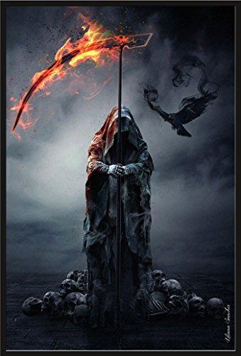 """Empire - Poster """"Liliana Sanches, Reaper"""", con accessori plastica-cornice nera"""