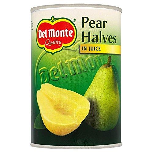 Del Monte poire moitiés dans Juice (415g) - Paquet de 6