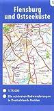 Fahrradkarte Radkarte Dortmund- Köln - Ruhrgebiet - Bergisches Land  1:100.000