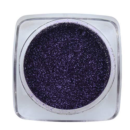 Luckhome Farben Schimmer Matt Mineral Pigment Lidschatten Palette Nude Beauty Make up (G)