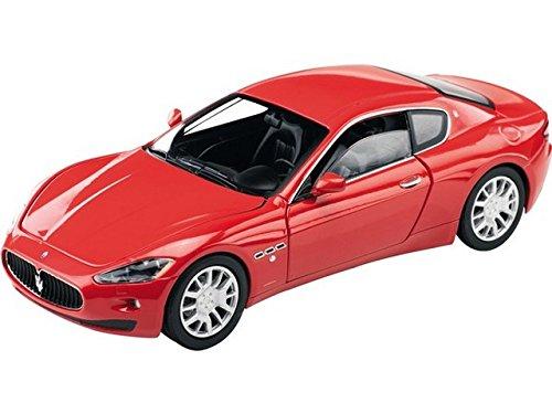 mondo-motors-coche-de-juguete-escala-124-modelo-maserati-gran-turismo-color-rojo-51054