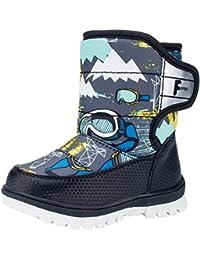 La vogue Zapatos Botas de Nieve Invierno para Niño Unisex