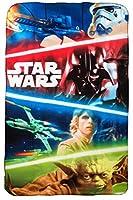 Star Wars-Coperta in pile 100x 150cmLicenza originale