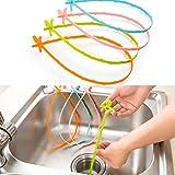 Reinigungshaken, Haar-Abfluss-Clog-Entferner und Abbau-Öffner für Badezimmer- und Badewanne-Bagger-Gerät-kleine Hilfsmittel-Ausgangs-Abwasserkanal-Toiletten-Toiletten-Reinigungs-Werkzeug