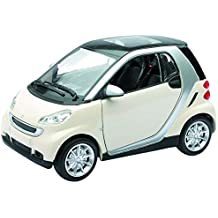 New Ray 71034 – Smart Fortwo, blanco, escala 1: 24, Die Cast