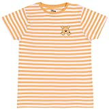 T-Shirt à Rayures Jaunes et Blanches Winnie l'ourson Disney L