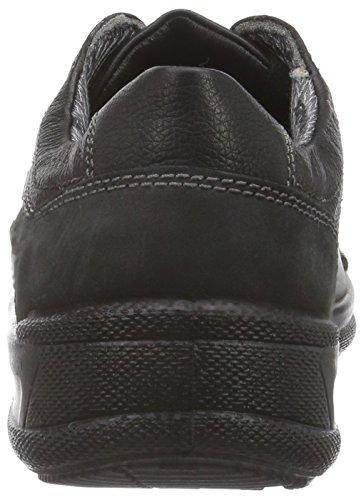 Jomos Man Life, Chaussures Oxford homme Multicolore - Mehrfarbig (schwarz/schwarz/shark 513/0042)
