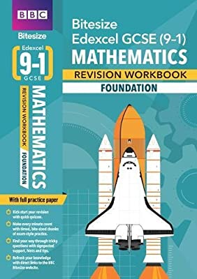 BBC Bitesize Edexcel GCSE (9-1) Maths Foundation Workbook (BBC Bitesize GCSE 2017) by BBC Active