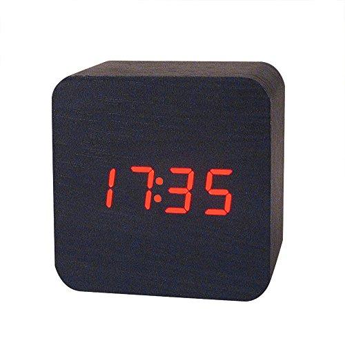 Rifuli-Küche, Haushalt & Wohnen Uhr Kreative Temperaturanzeige Klingt Steuerung Elektronische LED Wecker Hausgarten Küchenzubehör Uhren Alarm elektronische Uhren