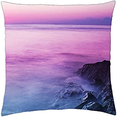Paradise Sunset - Throw Pillow Cover Case (18