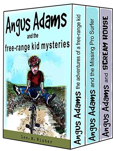 Angus Adams and the Free-Range Kid Mysteries (Box Set) (English Edition) por Lee. M. Winter