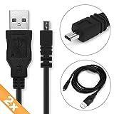 CELLONIC 2X Câble USB Data Compatible avec Nikon D5300 D5200 D5100 D5000 D750 D7100...