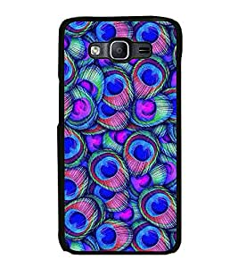 Fuson Peacock Wall Art Designer Back Case Cover for Samsung Galaxy On5 Pro (2015) :: Samsung Galaxy On 5 Pro (2015) (Abstact Art Paint Painting Illustrations)