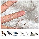 GWHOLE Rete Anti-uccelli 4 x 10 m Rete di Protezione Dagli Uccelli