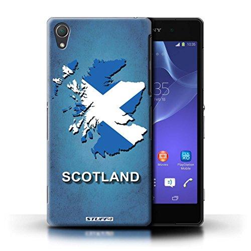 Kobalt® Imprimé Etui / Coque pour Sony Xperia Z2 / Russie/Russe conception / Série Drapeau Pays Ecosse/écossaise
