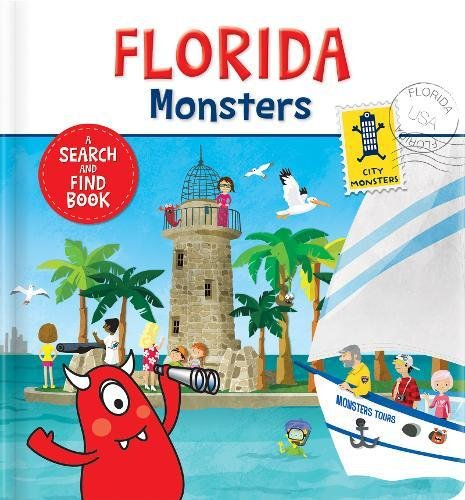 Florida Monsters: A Search and Find Book (People-disney-welt Little)