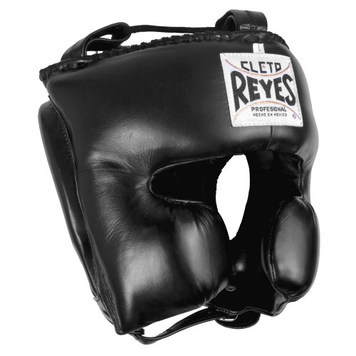 Cleto Reyes Classic Training Headgear, Black, Medium
