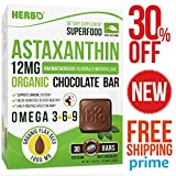 Natural Astaxanthin 12mg Supplement - For Mental Refreshment - Suitable for Vegans - High Potency Astaxanthin - Best Pure Algae Supplement